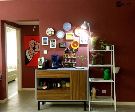 65平现代风格温馨浪漫的小窝客厅