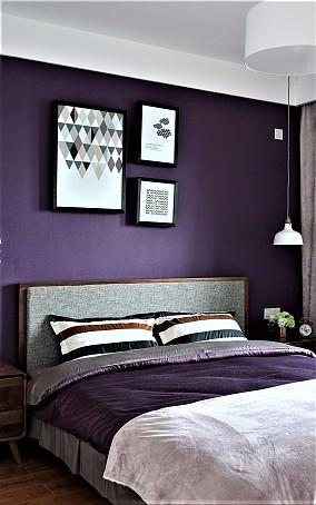 徜徉在爱的的梦幻里140平三居卧室地中海设计图片赏析