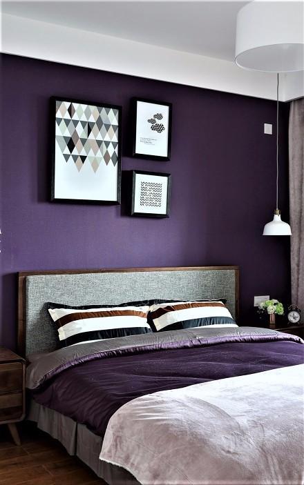 徜徉在爱的的梦幻里140平三居卧室