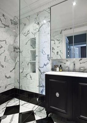 怎样用15万装出优雅的贵族气质?卫生间欧式豪华设计图片赏析