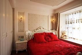 旭日上城140平设计案例卧室2图欧式豪华设计图片赏析