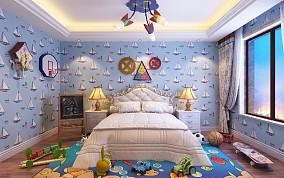 西山别墅设计欧式风格卧室欧式豪华设计图片赏析