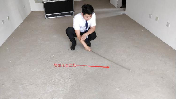 客廳地面檢測