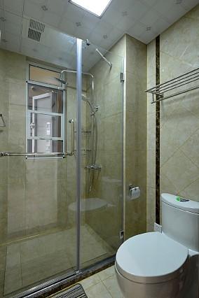 125平方新中式风格悠然雅居卫生间中式现代设计图片赏析