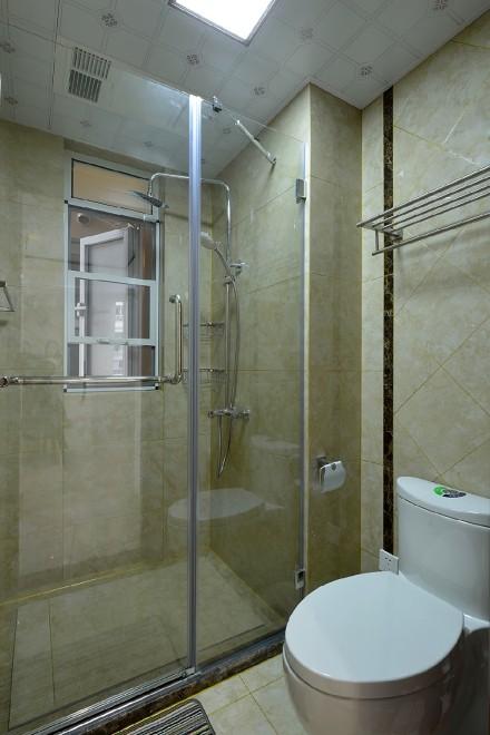 125平方新中式风格悠然雅居卫生间
