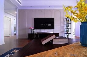 这样的配色让冬天不再寒冷!客厅1图美式经典设计图片赏析