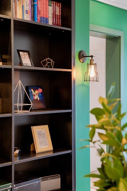 美式田园三居室,美领略美西的粗犷和闲适功能区