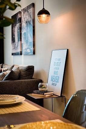 美式田园三居室,美领略美西的粗犷和闲适厨房美式田园设计图片赏析