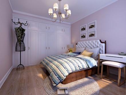 玫瑰湾卧室