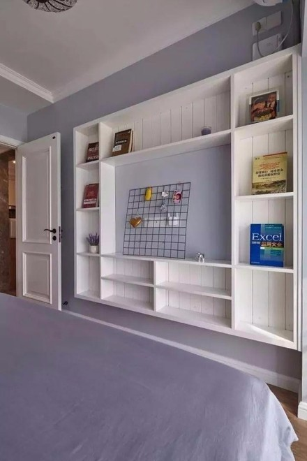 北欧简约小两房装修案例卧室