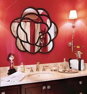 美式的家,温暖如春|170㎡美式经典卫生间美式经典设计图片赏析