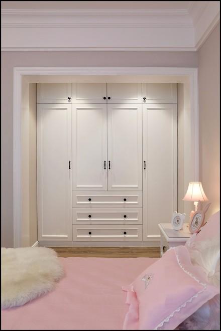 160㎡现代美式风,打造全新美式新家卧室