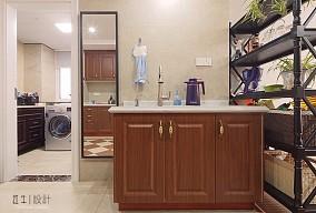 紫杨佳园85㎡简美风格卫生间美式经典设计图片赏析