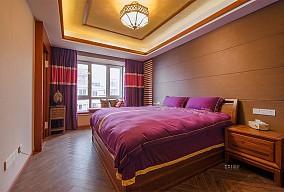 颐和美地西园260㎡东南亚卧室潮流混搭设计图片赏析