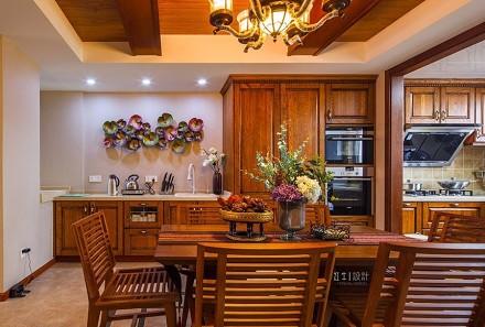 颐和美地西园260㎡东南亚厨房