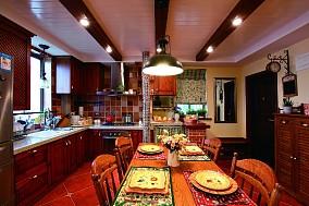 金科天籁城厨房1图美式经典设计图片赏析