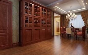 世茂滨江客厅3图美式经典设计图片赏析