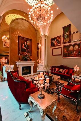 钱先生客厅1图欧式豪华设计图片赏析
