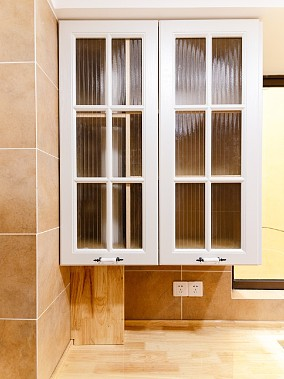融城昆明湖丨硬装实景丨现代简约风格餐厅1图现代简约设计图片赏析