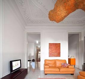融发心园卞先生的新家客厅美式经典设计图片赏析