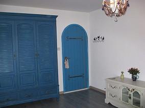 南京拉德芳斯,100平3房地中海装修卧室地中海设计图片赏析