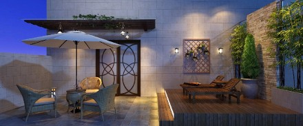 海丰怡冠酒店阳台