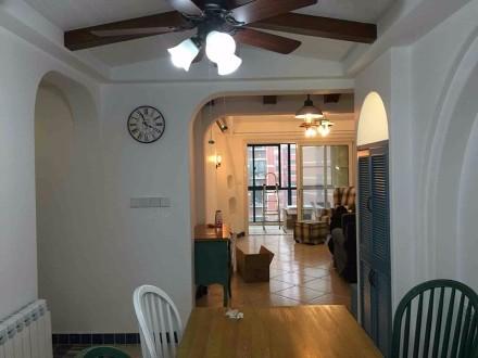 南京聚宝山庄,138平3房纯正地中海厨房