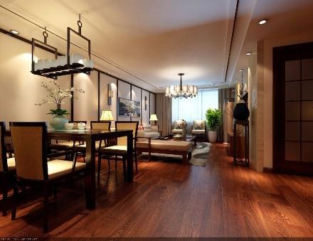 200平米新中式厨房