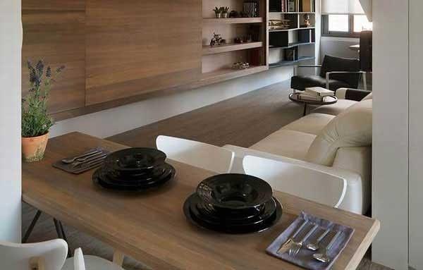 简约三居空间设计洗手