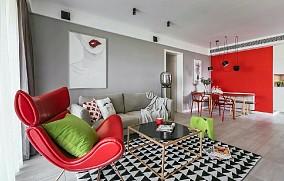 北欧风格时尚娇子客厅北欧极简设计图片赏析
