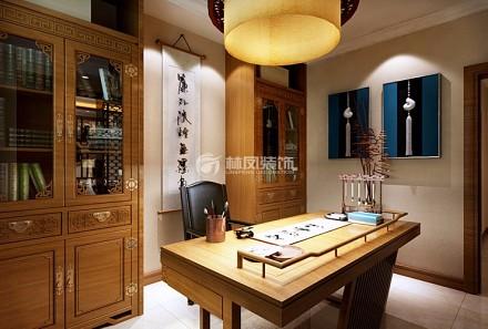 110㎡二居室,刺绣+满屏中国风客厅