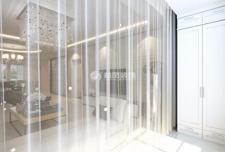 108㎡二居室,摇身一变欧式古典风阳台2图