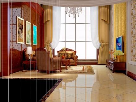 怎样用40万装出高贵优雅的贵族气质?客厅