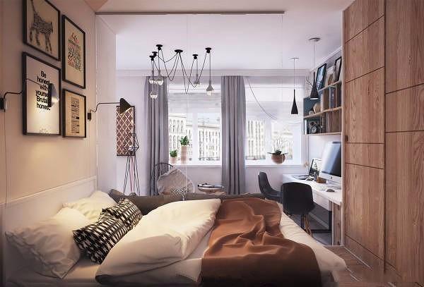50平单身小公寓