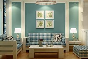 地中海混搭美式风格客厅地中海设计图片赏析