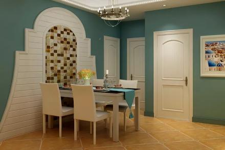 地中海混搭美式风格厨房