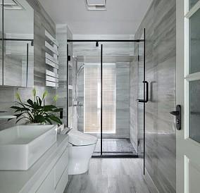 林语人家中式四居卫生间中式现代设计图片赏析