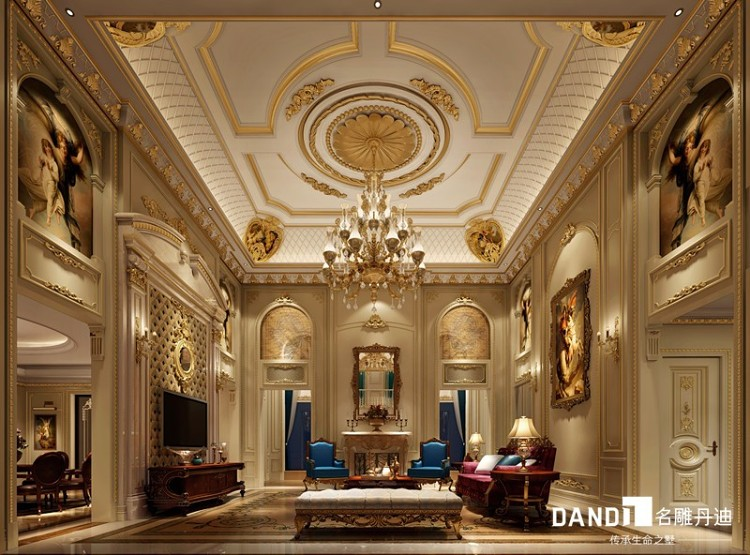 尊爵堡別墅-法式風格-別墅