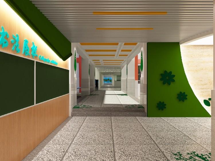 学校大厅走廊设计