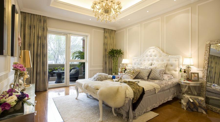 15平米主人房卧室装修效果图卧室欧式豪华卧室设计图片赏析