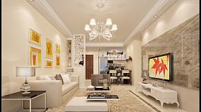 面积75平小户型客厅装修图片欣赏