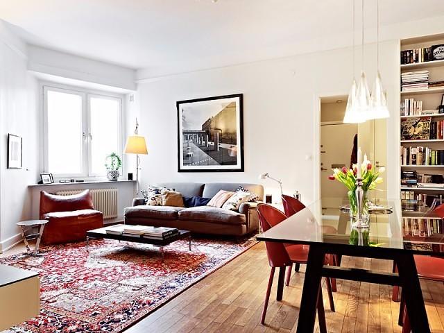 51平米的簡約現代單身公寓