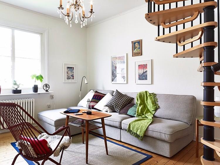 60平米簡約復式公寓