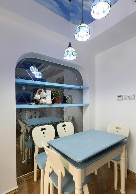 小户型巧设计让家充满地中海的气息厨房1图