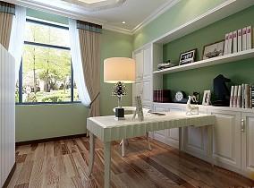 别墅田园卧室1图美式田园设计图片赏析