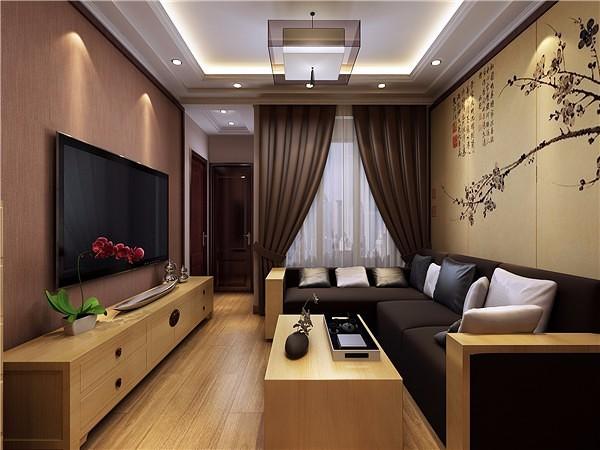 客廳中式裝修