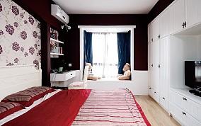香江枫景卧室美式田园设计图片赏析