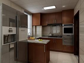雨晴烟晚·清新感的新中式小家餐厅1图中式现代设计图片赏析