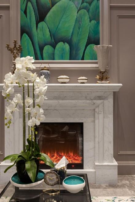 510㎡浪漫法式,开启精致生活新模式客厅