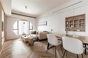 这样的家住起来太舒服了|108㎡日式客厅日式设计图片赏析